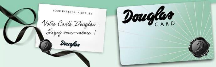 Carte de fidélité Douglas