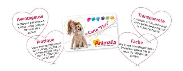 Carte de fidélité Animalis