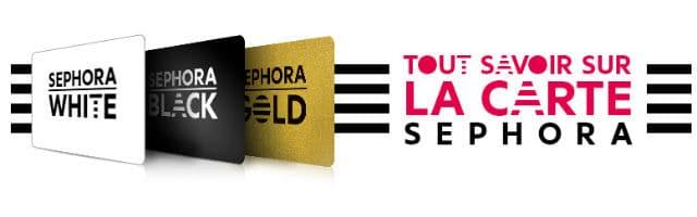 Carte Fidélité Sephora