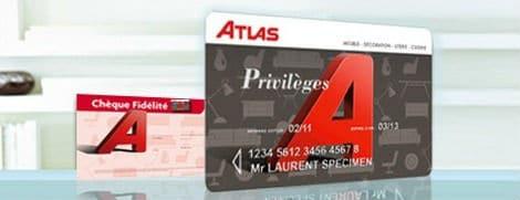 Carte de fidélité Atlas