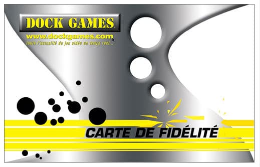 Carte de fidélite Dock Games