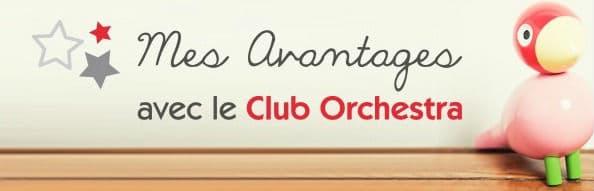 Carte de fidélité Orchestra