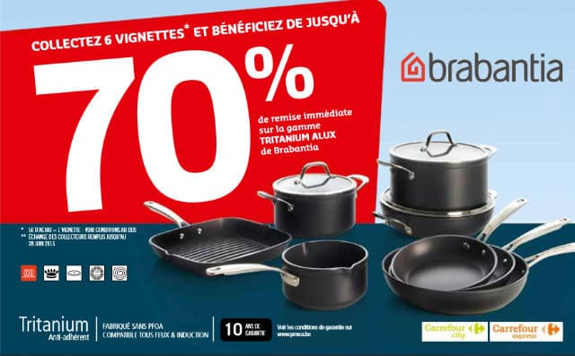 brabantia carrefour - Faitout Induction Carrefour