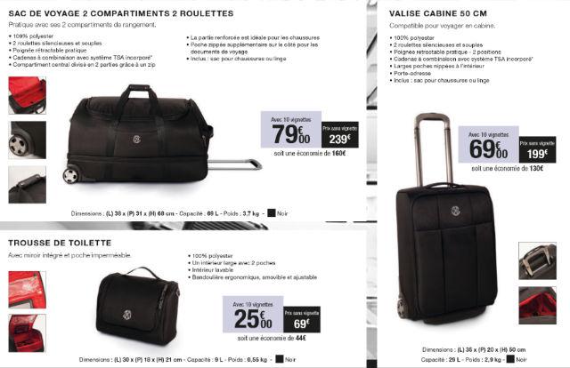 offre vignettes bagages christian lacroix carrefour market 2016. Black Bedroom Furniture Sets. Home Design Ideas