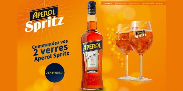 Verres Aperol Spritz 2015