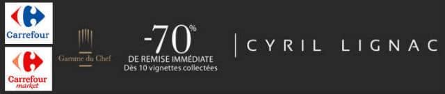 op ration vignettes collecteur cyril lignac carrefour. Black Bedroom Furniture Sets. Home Design Ideas