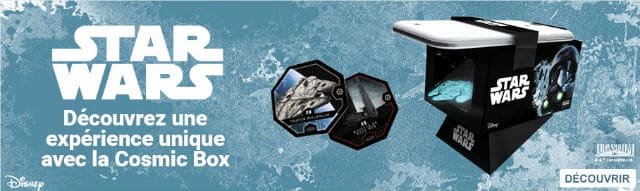 Cosmic Box Shells Star Wars Leclerc
