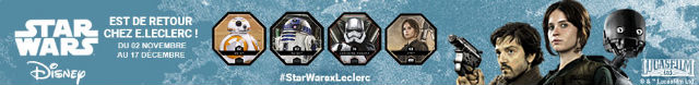Star Wars Cosmic Shell Leclerc 2016