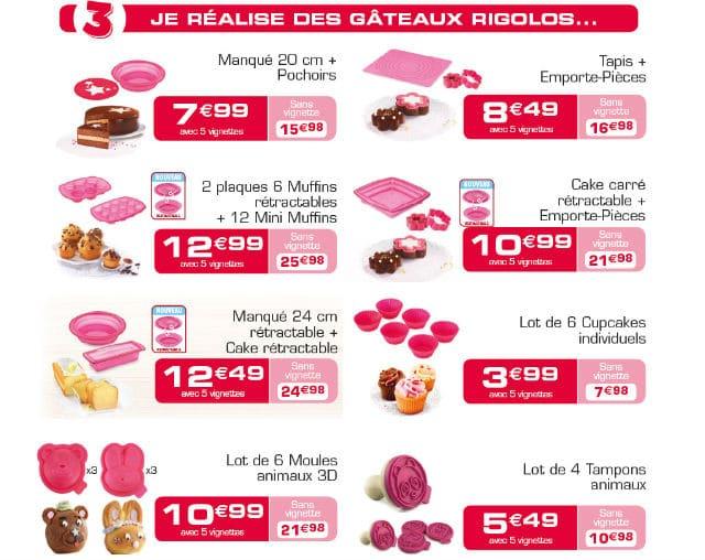 Moules gâteaux Tefal Match 2017