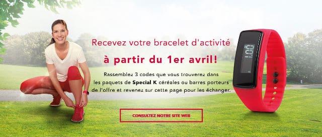 Bracelet Activité Spécial K 2016