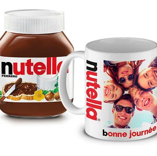 comment recevoir le mug personnalis nutella gratuit. Black Bedroom Furniture Sets. Home Design Ideas