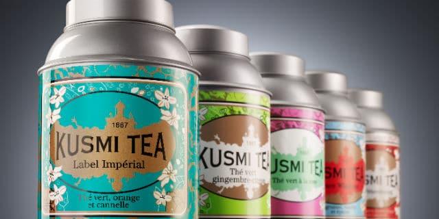 Carte de fidélité Kusmi Tea