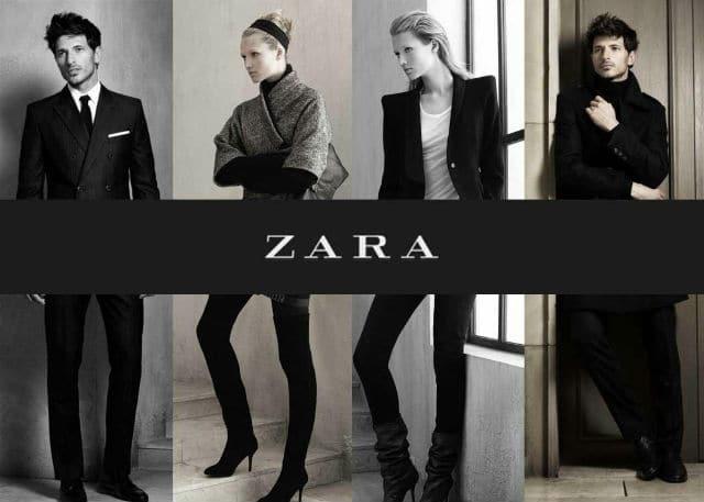 Carte de fidélité Zara