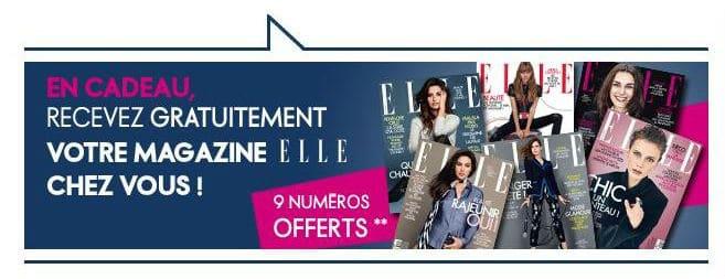 Magazine Elle gratuit
