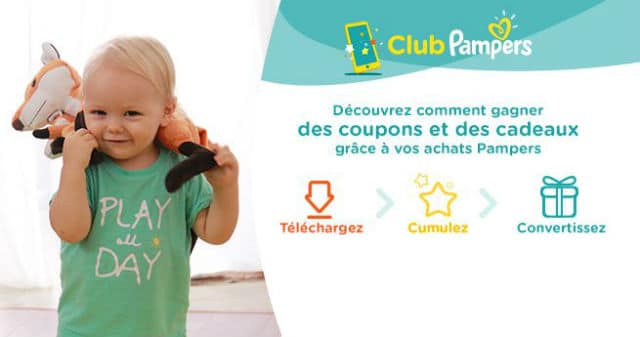 Application smartphone Club Pampers