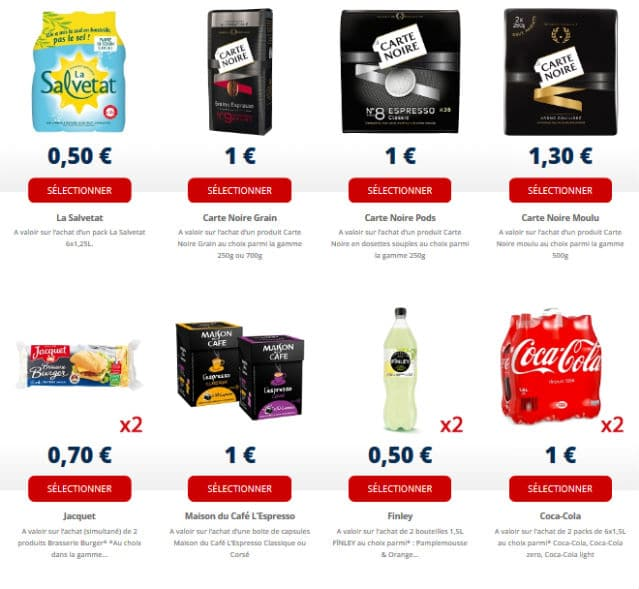 Coupons de reduction alimentaire en pdf gratuit