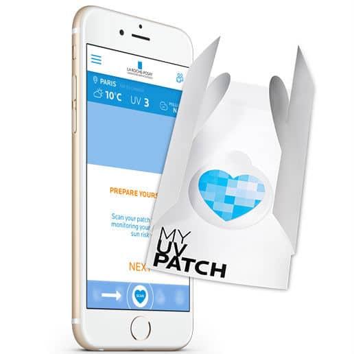 8.000 patchs capteurs d'UV gratuit Laroche-Posay