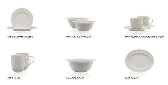 vignettes collecteur assiettes verres couverts alessi 80 carrefour. Black Bedroom Furniture Sets. Home Design Ideas