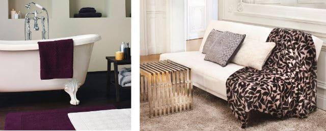 vignettes linge bain et lit azzaro carrefour carrefour market. Black Bedroom Furniture Sets. Home Design Ideas