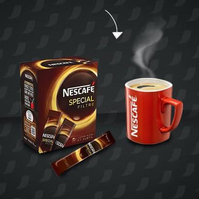Test : 2.000 boites de sticks Nescafé Spécial Filtre gratuites