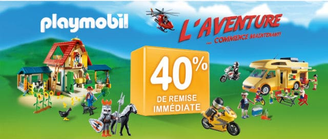 Vignettes Playmobil Supermarché Casino 2016
