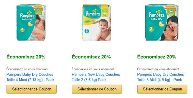 Bons de réduction Amazon