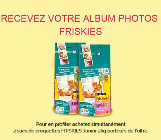Croquettes Friskies : album photo gratuit