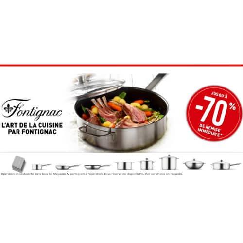 Vignettes articles de cuisine Fontignac Hyper / Super U