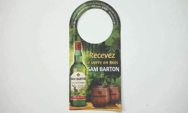 Recevoir des verres en bois Sam Barton