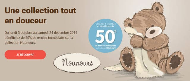 Vignettes Nounours Carrefour 2016