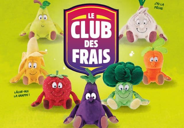 Vignettes peluches Club des Frais