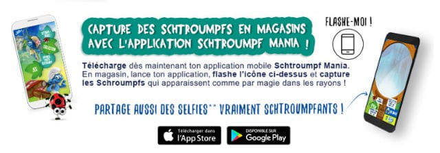 Application Schtroumpfs Mania