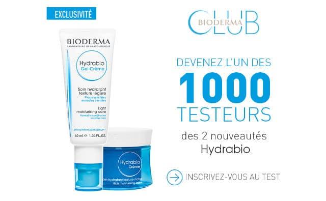 Test gratuit Hydrabio Bioderma 2016