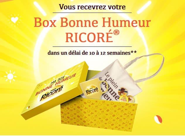 Box bonne humeur Ricoré 2017