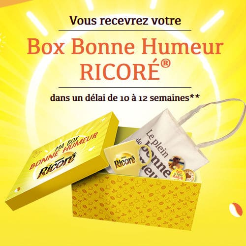 Opération Box Bonne humeur Ricoré