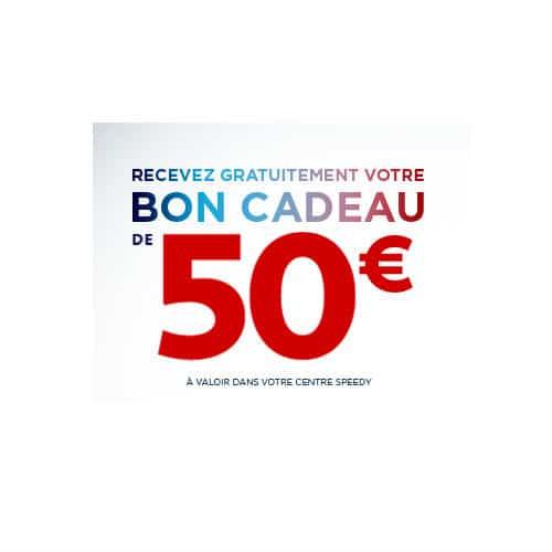 Speedeals : bon d'achat de 50€ chez Speedy offert