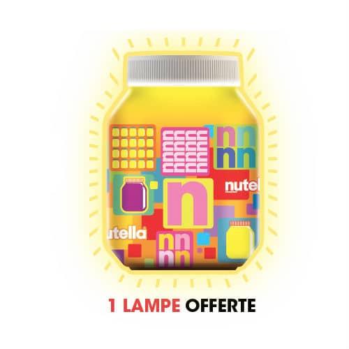 Recevoir la Lampe Pot de Nutella gratuite