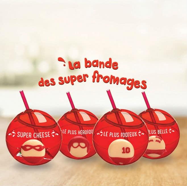 Recevoir les Super Verres Mini Babybel gratuits