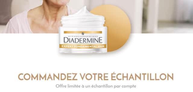Echantillon gratuit Diadermine Expert Fondamental