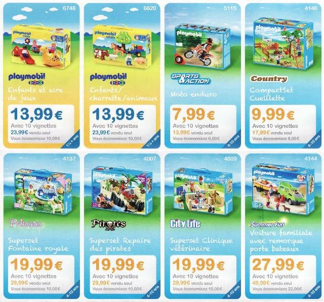 Jouets Playmobil Carrefour Market 2017