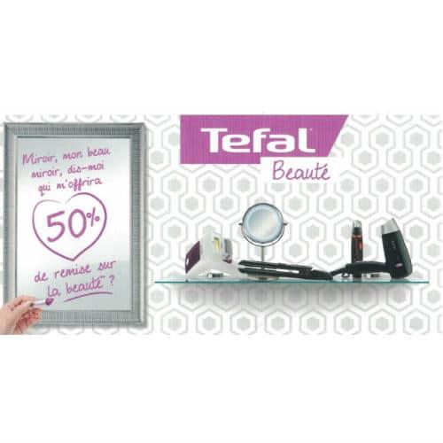 Vignettes Tefal Beauté Carrefour -50%
