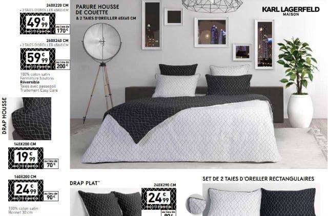 Collecteur Karl Lagerfeld Maison Carrefour