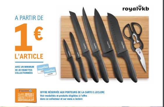 Couteaux Royal VKB Leclerc