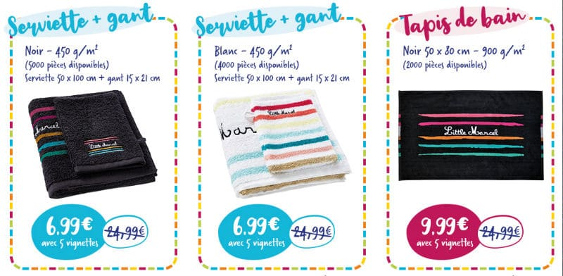 Linge de bain Little Marcel Match