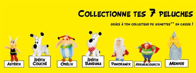 Peluches Astérix Obelix Lidl