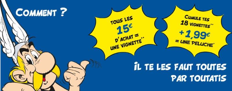 Vignettes Astérix Lidl