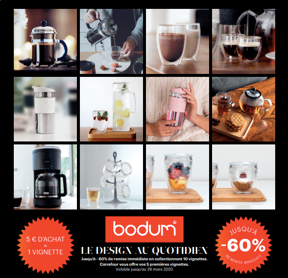 Collecteur Bodum Carrefour